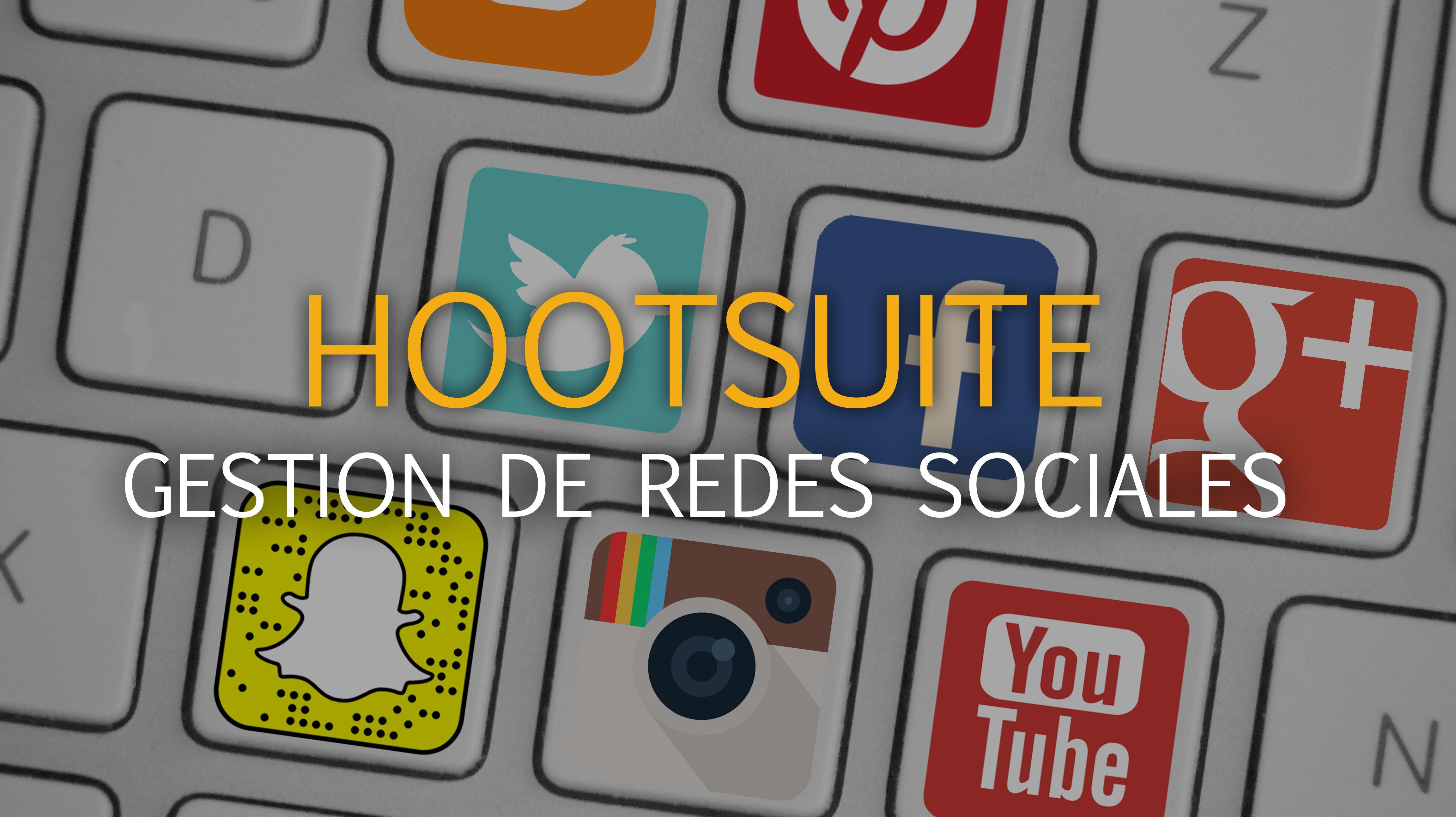 herramienta de redes sociales Hootsuite