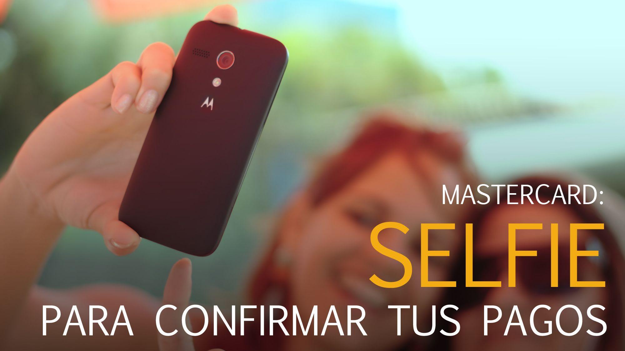 confirmar tus pagos en Mastercard con un selfie