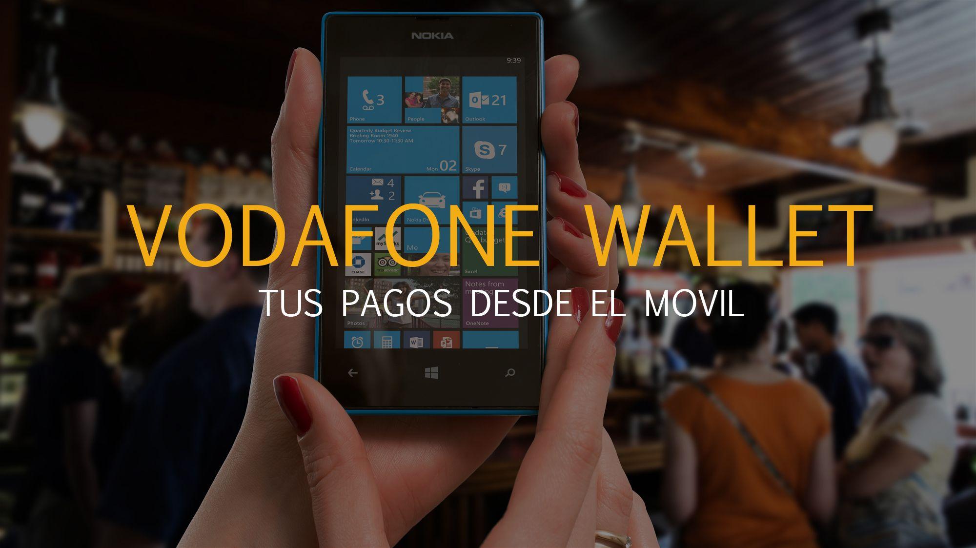 app de pago online Vodafone Wallet
