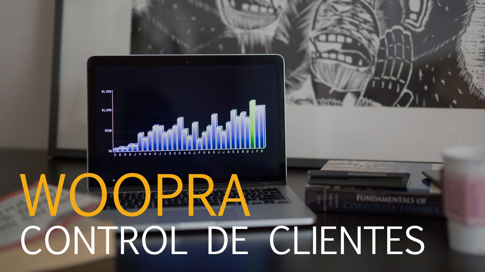 gestión de clientes con Woopra