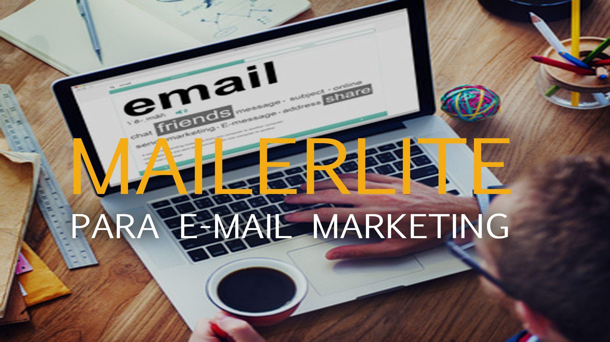herramienta de email marketing MailerLite
